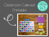 Classroom Calendar Set {Bright and Cheerful}