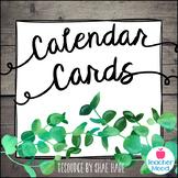 Classroom Calendar Cards {Southern Charm} Morning Meeting