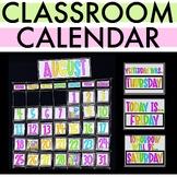 Classroom Calendar Decor