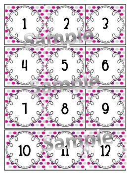 Classroom Calendar Freebie #2