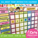 Classroom Calendar - Giant DIY Poster