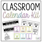 Classroom Calendar Kit