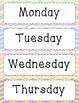 Classroom Calendar Labels Set 2015-2016 (UPDATED)