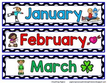 Classroom Calendar Math