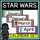 Classroom Calendar Decor- STAR WARS theme!