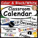 Classroom Calendar Set Printable- Calendar Numbers, Days, Months, Years Primary