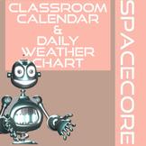 Classroom Calendar, Teacher Desk Calendars, and Weather Ch