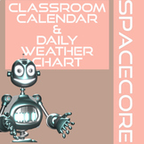 Classroom Calendar, Teacher Desk Calendars, and Weather Ch