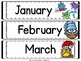 Classroom Calendar and Rules with Owls