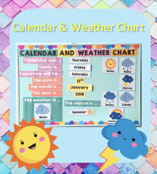 Classroom Calendar and Weather Chart