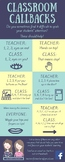 Classroom Callbacks
