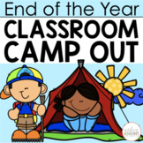 End of the Year Classroom Camp Out  {A Week-Long Unit}
