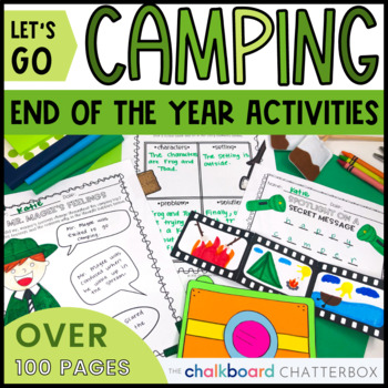 Camp Out END OF THE YEAR ACTIVITIES