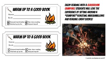 Classroom Campfire Coupons for Literacy and Student Engagement