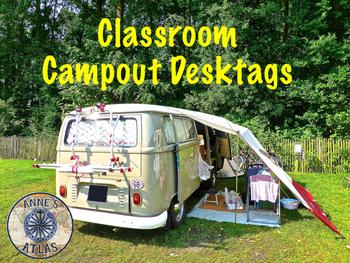 Classroom Campout Desktags