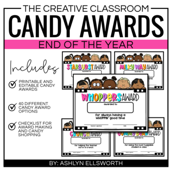 End of the Year Awards - Candy Awards - End of Year Awards