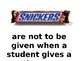 Classroom Candy Rules