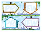 Classroom Cards - Arrows Theme