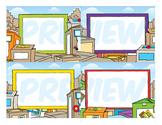 Classroom Cards - Box Theme