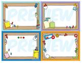 Classroom Cards - Bulletin Board Theme