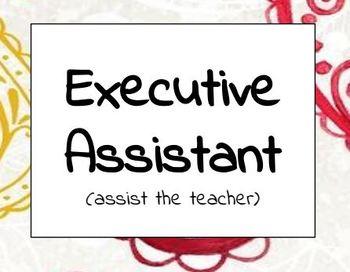 Classroom Jobs and Careers
