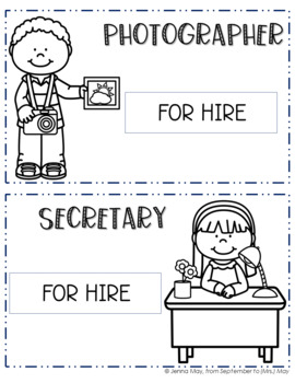 Classroom Careers to Build a RTI Environment (Jobs)