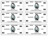 Classroom Cash ($5)