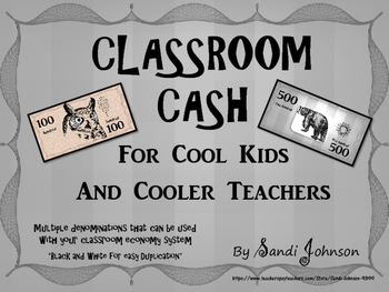 Classroom Cash - Camping Theme