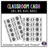 Classroom Cash / Class Economy {$1, $5, $10, $20 Denominations)