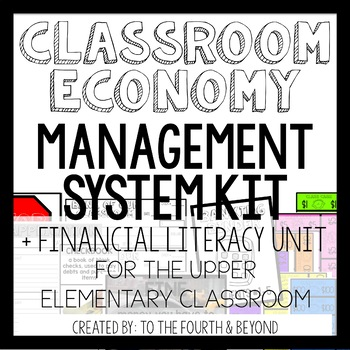 Classroom Cash Economy Management System Kit and Financial Literacy Unit