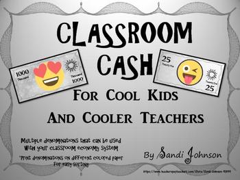 Classroom Cash- Emoji Theme