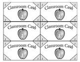 Classroom Cash, Money, Class Economy ($1, $5, $10, $20)