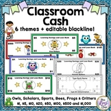 Classroom Cash - 6 Themes of Classroom Money for Your Class Economy