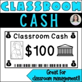 Classroom Cash - Classroom Money Rewards System/Incentives/Bucks