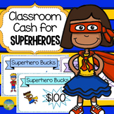 Classroom Cash with Superhero Theme