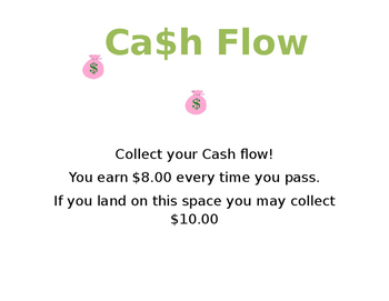 Classroom Cashflow Whole Wall Game