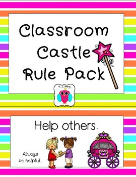 Classroom Castle Rules