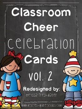 Classroom Celebration Cheers Vol. 2