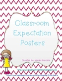 Classroom Center Expectation Posters