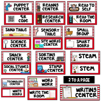 Editable Center Labels