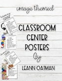 Classroom Center Poster- Real life images Themed