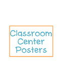 Classroom Center Posters
