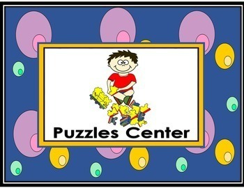 Classroom Center Signs (download)