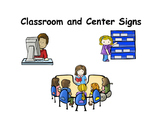 Classroom & Center Signs