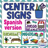 SPANISH Classroom Center Signs
