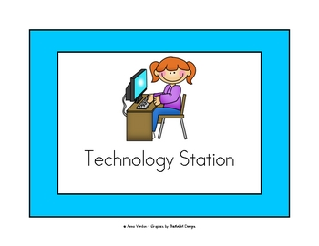 Classroom Center/Station Signs