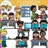 Classroom Centers Clip Art Set One {Whimsy Clips School Clip Art}