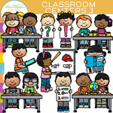 Little Shorties Classroom Centers Clip Art - Set Three