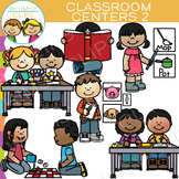 Classroom Centers Clip Art - Two
