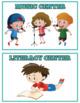 Classroom Centers Instant Download PDF; Preschool, Kindergarten, School (Blue)